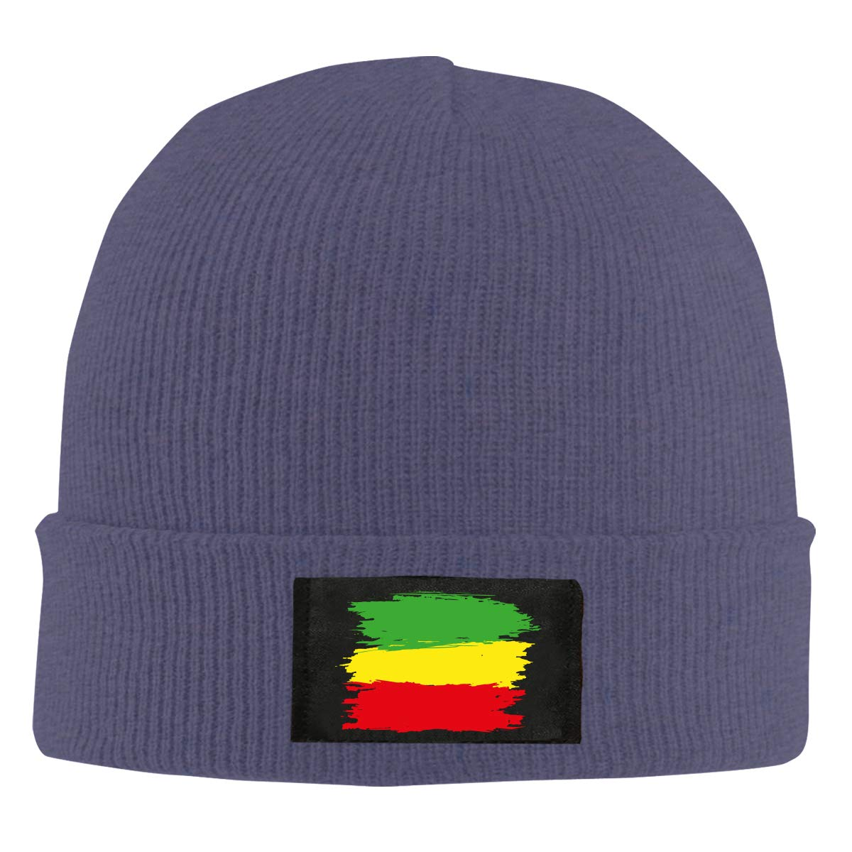 100/% Acrylic Comfortable Skiing Cap BF5Y6z/&MA Mens and Womens Grunge Rasta Flag Knitted Hat
