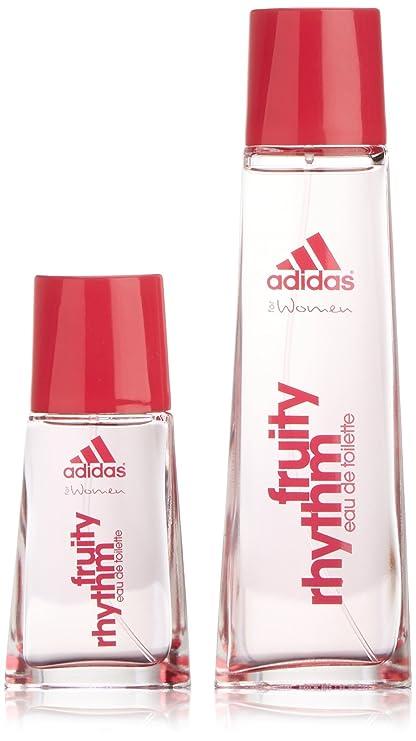 Adidas - Fruity Rhythm - Agua de colonia para mujer con vaporizador - set 75 ml