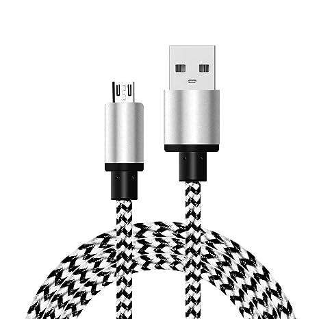 Pigupup Cargador Cable de Datos Micro USB para Sumsung ...