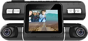 Pruveeo MX2 Front and Rear Dual Camera Dash Cam Recorder