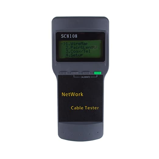 2 opinioni per Lemonbest®-Cavo rete-Tester per cavo LAN per RJ45, Tester per cavi