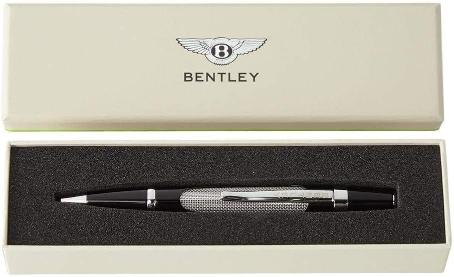 Bentley Motorsport Kugelschreiber Und Präsentationsbox Schwarz Silber 2019 Bürobedarf Schreibwaren
