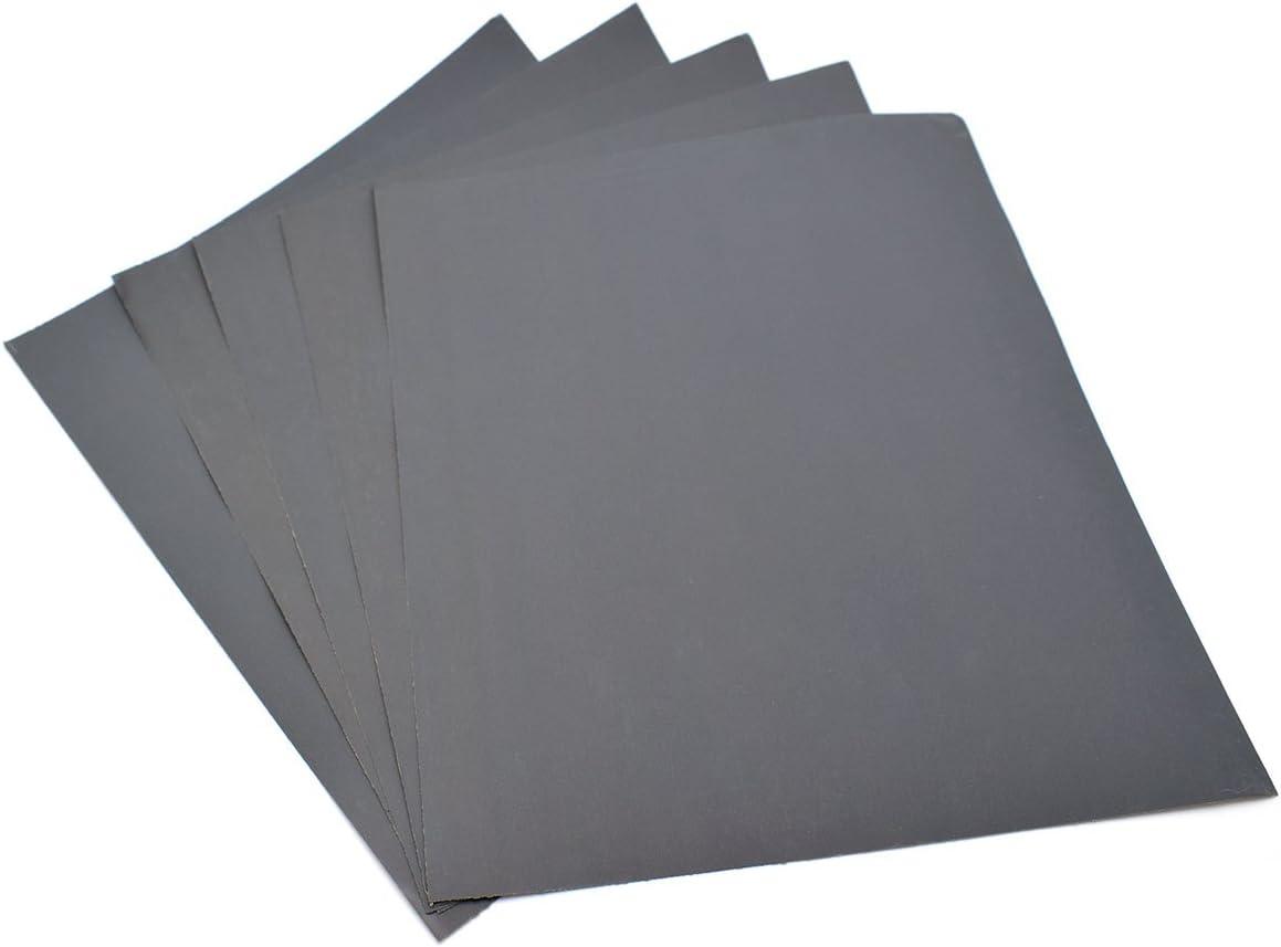 /Grain 2000//étanche papier humide//sec en carbure de silicium 230/X280/mm Lot de 5/feuilles papier abrasif/