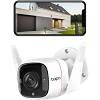 TP-Link Tapo Outdoor Security Wi-Fi Camera - 3MP Crystal-Clear, Wired & Wireless, Motion Detection, Night Vision, Two…