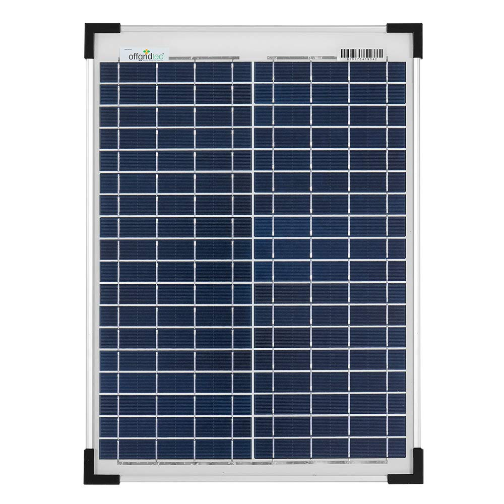 Offgridtec 5 W Solarmodul POLY 12 V Solarpanel Solarzelle 3-01-001555