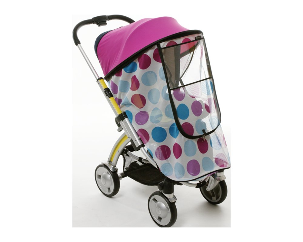 Manito Harmony Magic Shade (Sun Shade + Mosquito Net 2-in-1) for Strollers - Purple