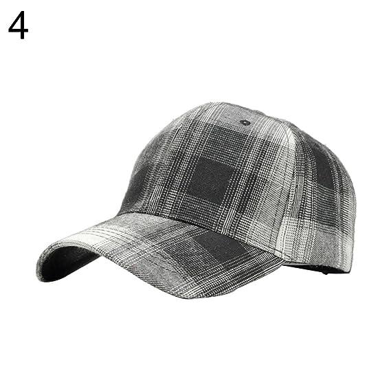 E-House - Gorra de béisbol de algodón Transpirable con diseño de ...