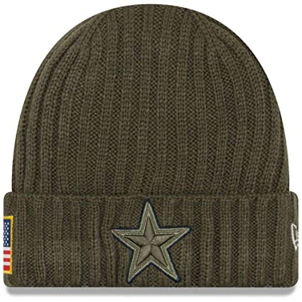 separation shoes 72094 f681f Dallas Cowboys Salute to Service 2017 Knit Hat
