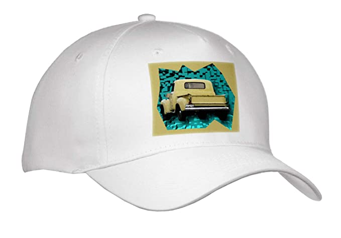 dc5def551b8 Jos Fauxtographee- Old Truck Cut Out - an Old Yellow Truck on a Pattern of