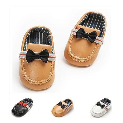 ac6b02f6694bc Amazon.com: Kaki Baby Shoes Baby Boys Girls Slip-on Loafers Soft ...
