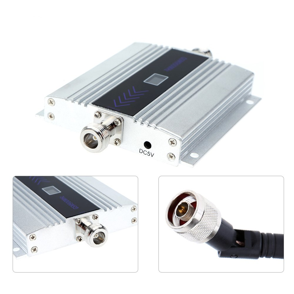 Sunluxy - Amplificador repetidor repetidor Booster señal GSM 900 MHz 60dB con antena para teléfono portátil......: Amazon.es: Electrónica