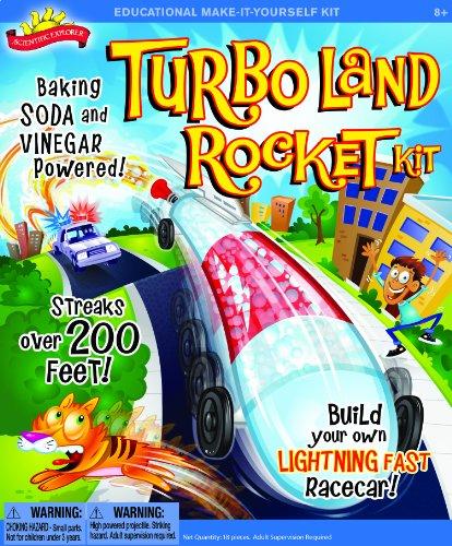Scientific Explorer Turbo Land Rocket Kit