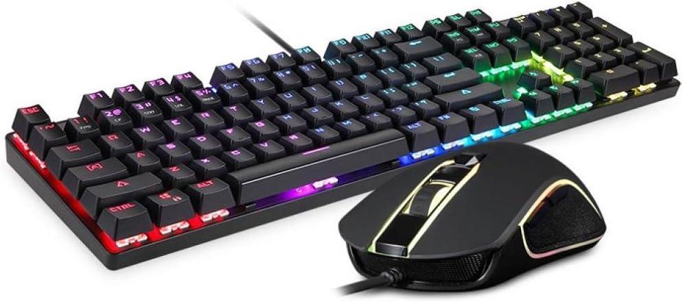 koly_teclado Koly Motospeed CK888 Gaming Keyboard y ratón con ...