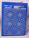 img - for Introduction to Ordinary Differential Equations by Shepley L. Ross (1980-04-16) book / textbook / text book