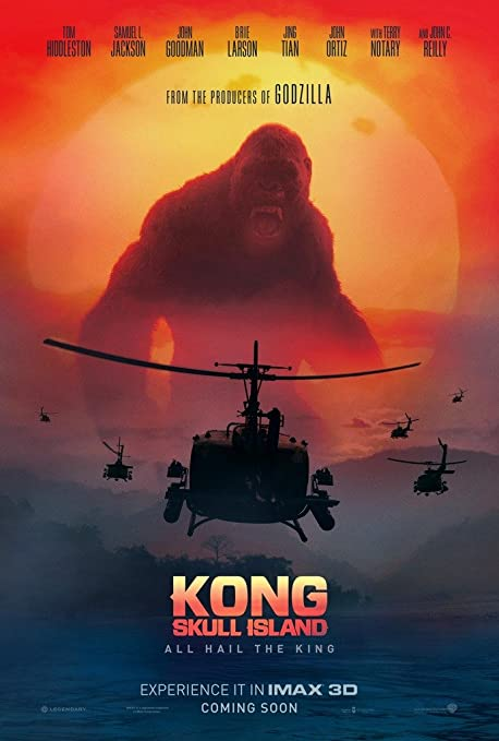 Mbposters Kong Skull Island 2017 Movie Poster In Sizes Amazon Co Uk Kitchen Home
