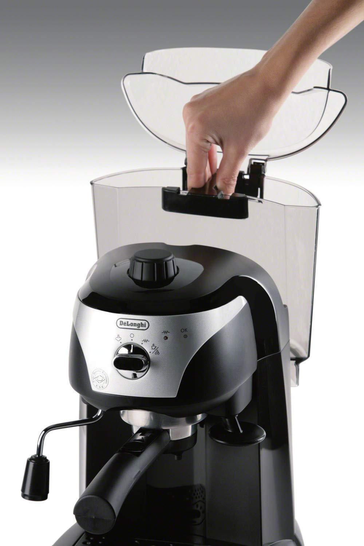 DeLonghi EC220CD 15-Bar Pump Driven Espresso Maker