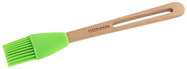 FACKELMANN Backpinsel Mehrfarbig Silikon 7.5 x 23.2 x 8.3 cm