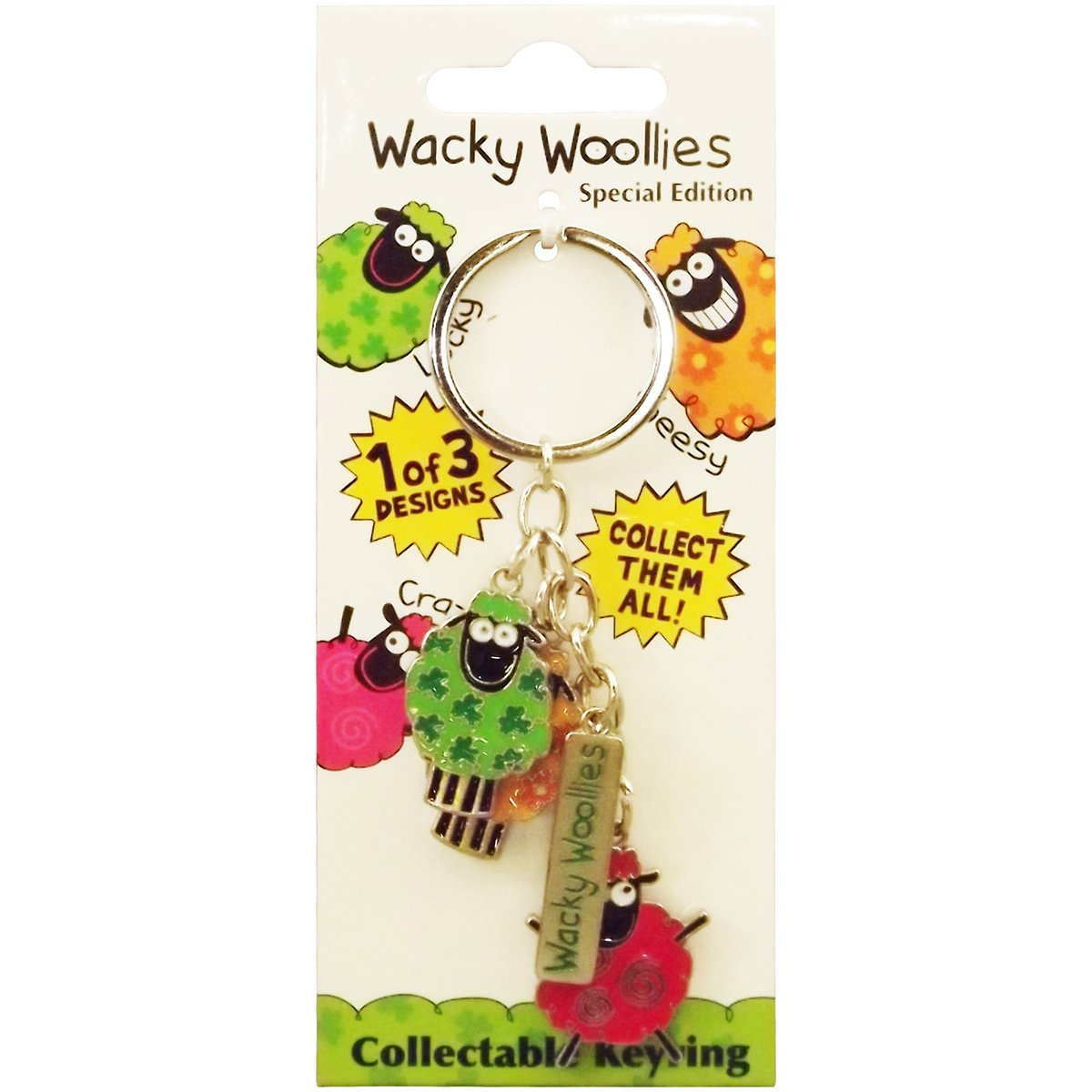 Dublin Gift Wacky Woollies Key Chain 3190