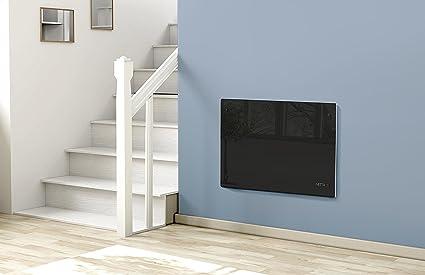 Netta radiador por convección - incluye soporte de pared , calentador de panel de vidrio -