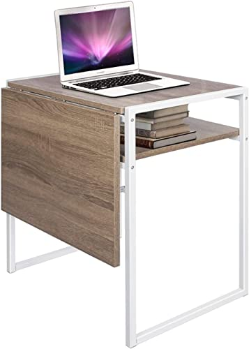 Flexispot Electric Height Adjustable Desk Sit Stand Desk, 42 x 24 Inches, Home Office Table Stand up Desk Gray Frame 42 in Mahogany Top