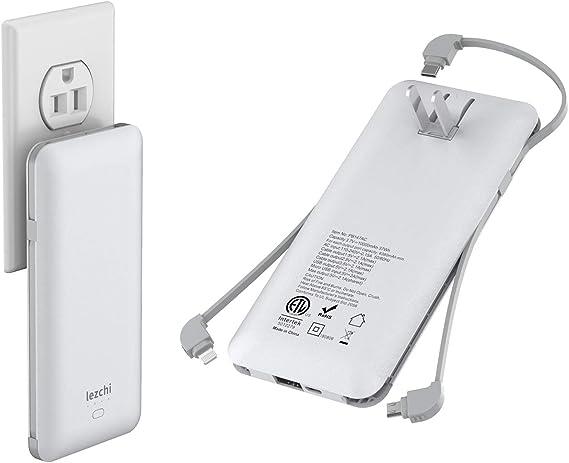 Amazon.com: 10000mAh Power Bank, USB C Cargador portátil ...