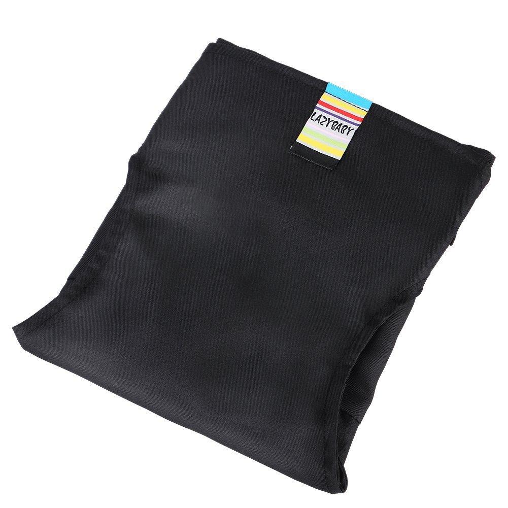 Di/&Mi baby tragbar Stuhl-Sitzgurt Esszimmerstuhl Sicherheitsgurt Hochstuhl schwarz