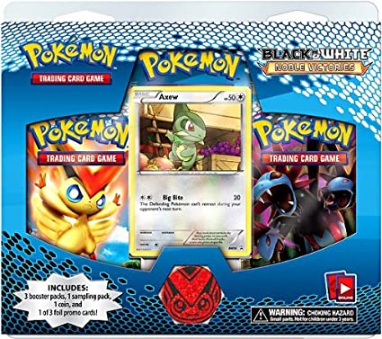 Pokemon Card Game Noble Victories Special Edition 3 Booster Packs ...