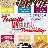 Pro Supps MyCookie Soft Baked Protein Variety Pack #2 w/18g of Protein, No Trans Fat, Gluten Free, 12Ct/Box