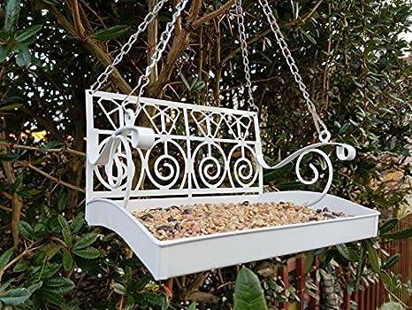 Elementi Decorativi Da Giardino : Garden mile bianco francese shabby chic panchina da giardino