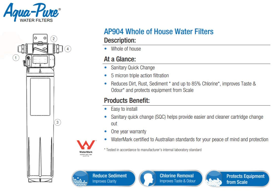 3M Aqua-Pure Whole House Replacement Water Filter Model AP917HD-S 5621008