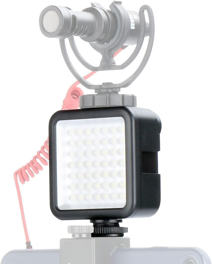 Ulanzi Ultra Bright LED Video Light - LED 49 Dimmable High Power Panel Video Light for DJI Ronin S SC OSMO Mobile 3 2 Zhiyun WEEBILL Smooth 4 Gimbal for Canon Nikon Sony Digital DSLR Cameras : Camera & Photo