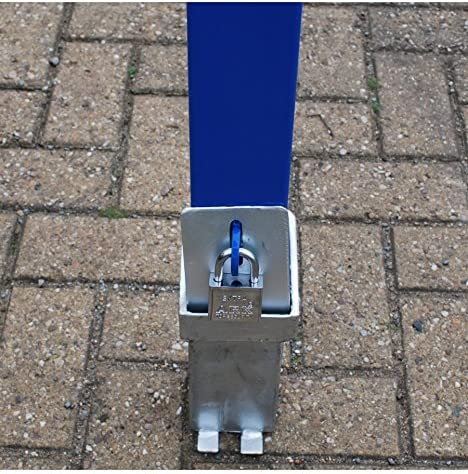 H//D Blue 100P-K Removable Parking /& Security Post Keyed Alike Please