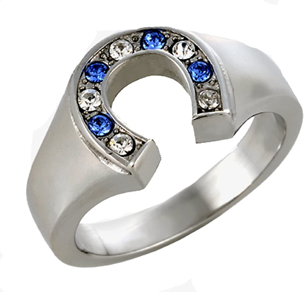 Rodeo Cowgirls Steer Skull Aluminum Stamped Ring Cowboy Ring Southwestern Rio Twist Ring Gift Horse Ring Western Ring Horses