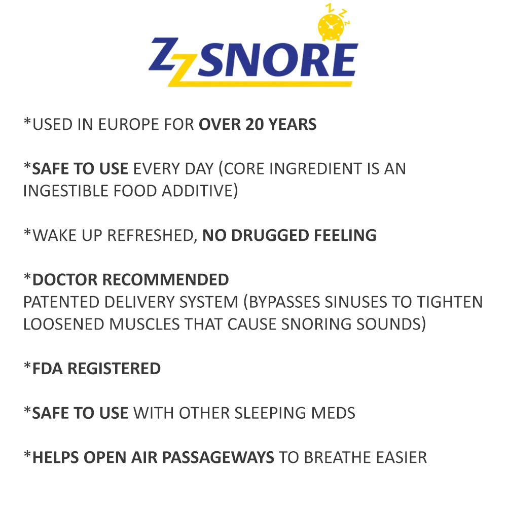 Zz Snore - Snoring Solution | Stop Snoring Nasal Spray | How I Stopped Snoring | Dr. Zweiback says,''I Have Found That ZzSnore is The Best Stop snoring Solution for Myself and My Patients.''