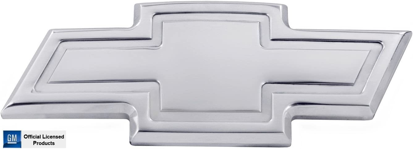 Silver Polished All Sales AMI 96022P Chevy 08-12 Malibu Front Bowtie Grille Emblem with Border