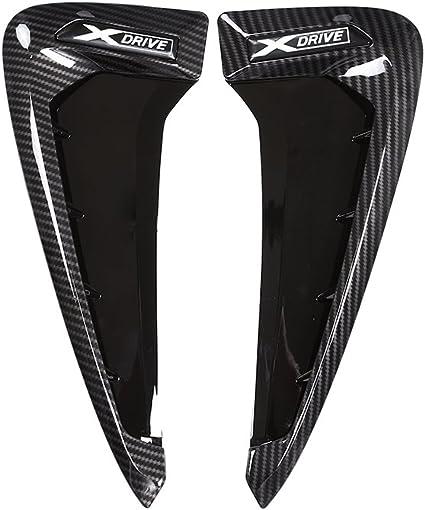 con logo xDrive da applicare su bocchette laterali 3D griglie /'a squalo/' Adesivi per auto in fibra di carbonio