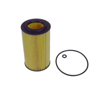 pack of one Blue Print ADM52124 Oil Filter with seal ring