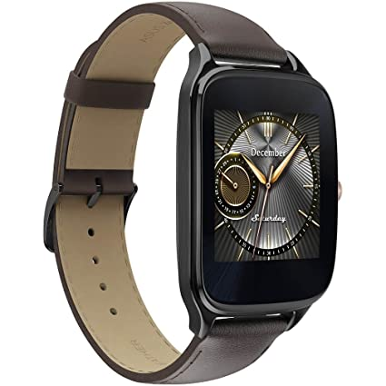 371110deb4 Amazon.com: Asus Zenwatch 2 WI501Q Smartwatch for Android - Brown ...