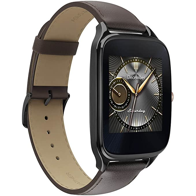 Asus Zenwatch 2 WI501Q Smartwatch for Android - Brown Leather