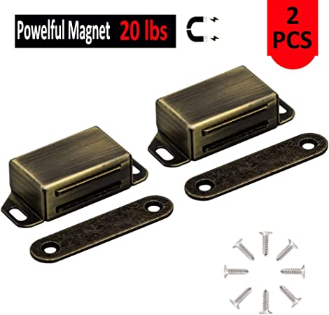 Amazon Com Magnetic Door Catch Heavy Duty Magnet Latch Cabinet