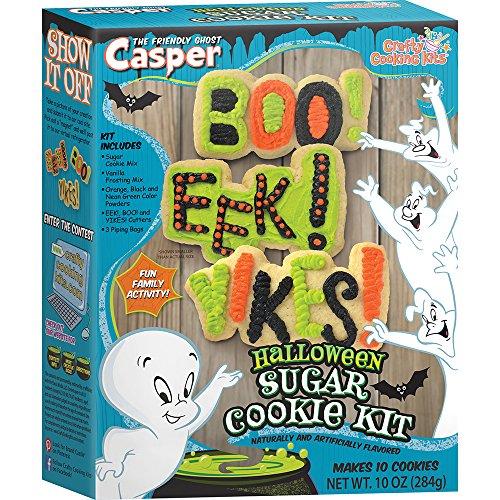 Crafty Cooking Kits Casper Halloween Cookie Kit, 10 (Scary Halloween Snacks)