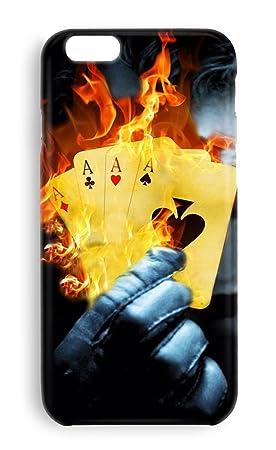 Funda carcasa Poker cartas para Samsung Galaxy S6 plástico ...