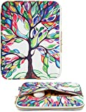 CoolBell 17.3 Inch Laptop Sleeve Case Cover With Colorful Life Tree Pattern Ultrabook Sleeve Bag For Macbook / Acer / Asus / Dell / Lenovo / Women/Men