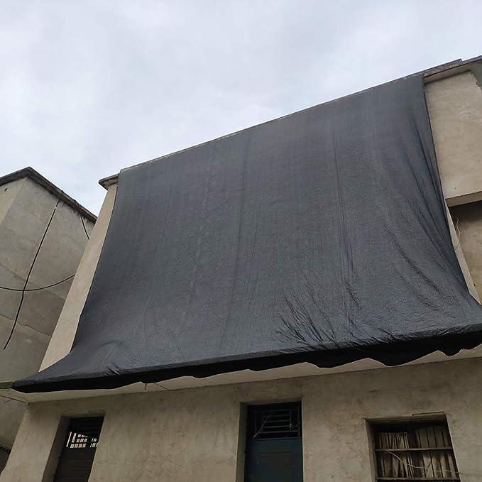 XLCZ Vela Toldo Negro/Protector Solar Vela De Sombra/Red De ProteccióN Anti UV, Ojales De CinturóN Transpirables, para La Agricultura AgríCola Terraza PéRgola De Granero: Amazon.es: Hogar