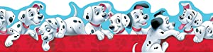 Eureka Disney 101 Dalmatians Bulletin Board Trim and Classroom Decoration for Teachers, 12pc, 3.25'' W x 37'' L