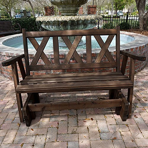 Porchgate Amish Made Haven 4ft. Red