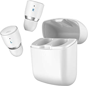 Cambridge Audio Melomania 1+ Earbuds, True Wireless Bluetooth 5.0, Hi-Fi Sound, in-Ear Stereo Earphones for iPhone and for Android, with Portable Charging Case (White)