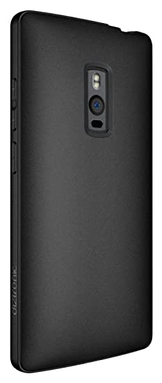 new style 1eb79 34e63 OnePlus 2 Case, Diztronic Full Matte Slim-Fit Flexible TPU Case for OnePlus  Two - Black - (OP2-FM-BLK)