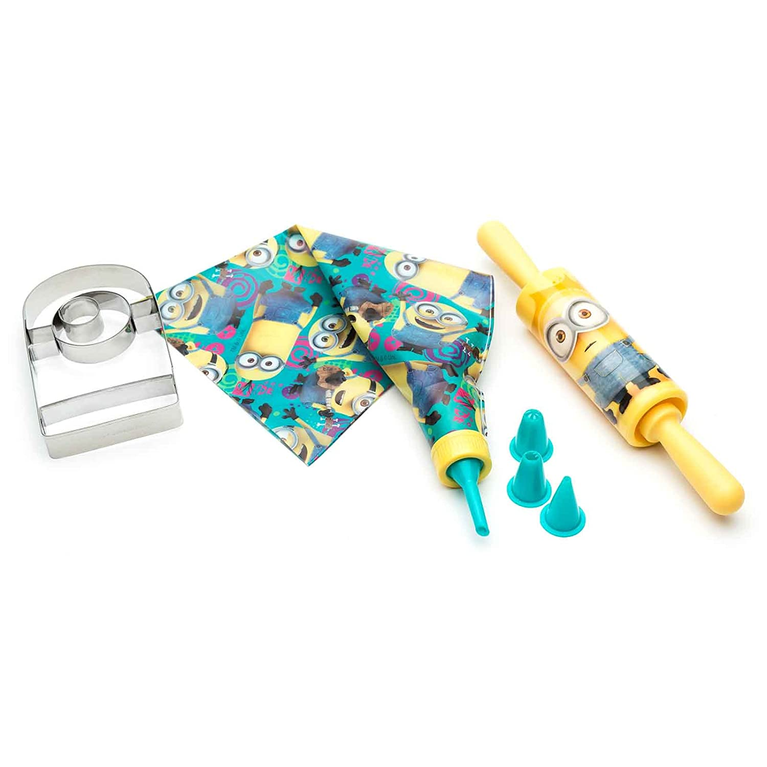 Baking Set for Kids by Zak Designs Minions Tiny Chef Lets Make Cookies