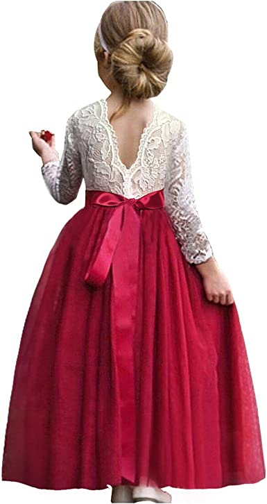 Perfect for Christmas Red Poofy Pageant Dress